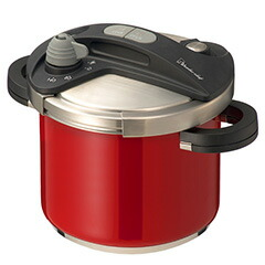 Wonder chef(ワンダーシェフ)オースプラス 両手圧力鍋 5.0L レッド 670106 BODB50-RD