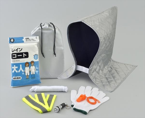 簡易頭巾7点セット(1セット×40組)