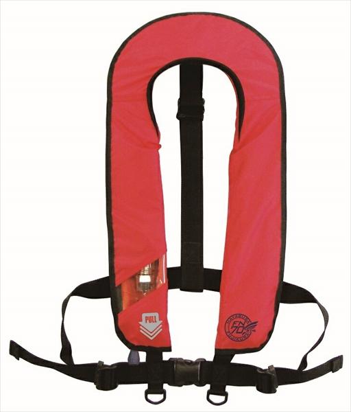 ライフジャケット 自動膨張式 赤