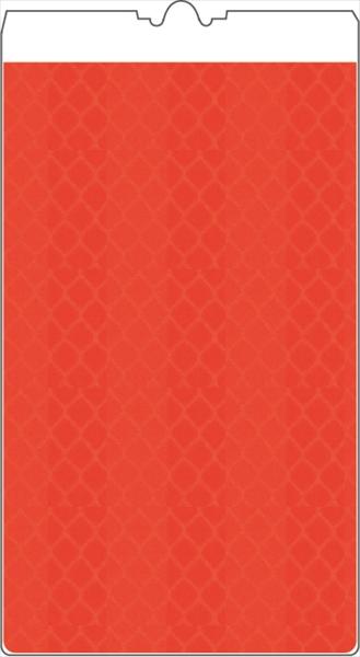 【ポイント2倍 26日1:59まで】コーンサイン オレンジ高輝度 無地(5枚セット)KF-418 仙台銘板