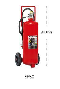 リサイクルシール付モリタ宮田工業畜圧式粉末式ABC消化器50型ハイパークイーン EF50