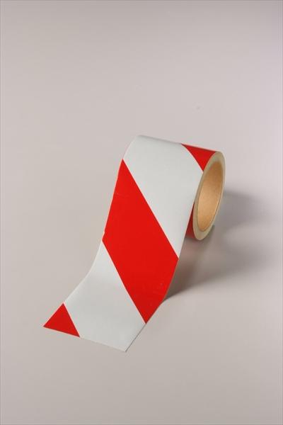ダイヤテープ(白/赤) 反射(12巻1組)