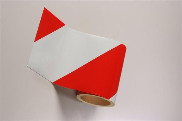 ダイヤテープ(白/赤) 反射(2個以上) 仙台銘板