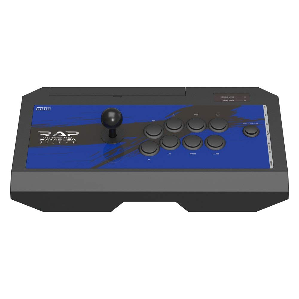 【PS4/PS3】リアルアーケードプロV サイレントハヤブサ ヘッドセット端子付き