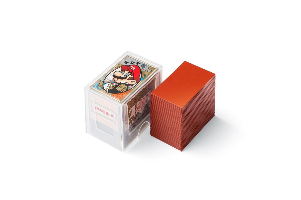 新製品 任天堂 予約販売 マリオ花札 送料無料新品 赤