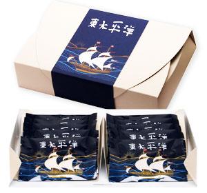 高級ラム酒の香り豊かなサクサククッキー ファクトリーアウトレット 東太平洋 専用箱 10枚入り 激安☆超特価