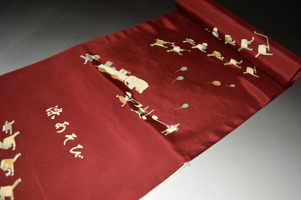 おしゃれ色襦袢(精華生地)-No.2543おしゃれ着襦袢に◎羽裏に◎長さ13.5メートル・巾37.5センチ)【正絹素材・送料無料】【キモノ仙臺屋このみ色襦袢】