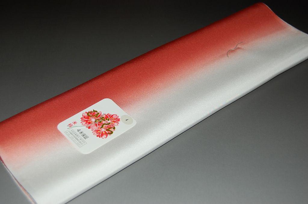 ひざくら・精華ぼかし八掛け-No.8004小紋・付下げ向き・正絹素材(長さ4m以上・正絹ぼかしタイプ)