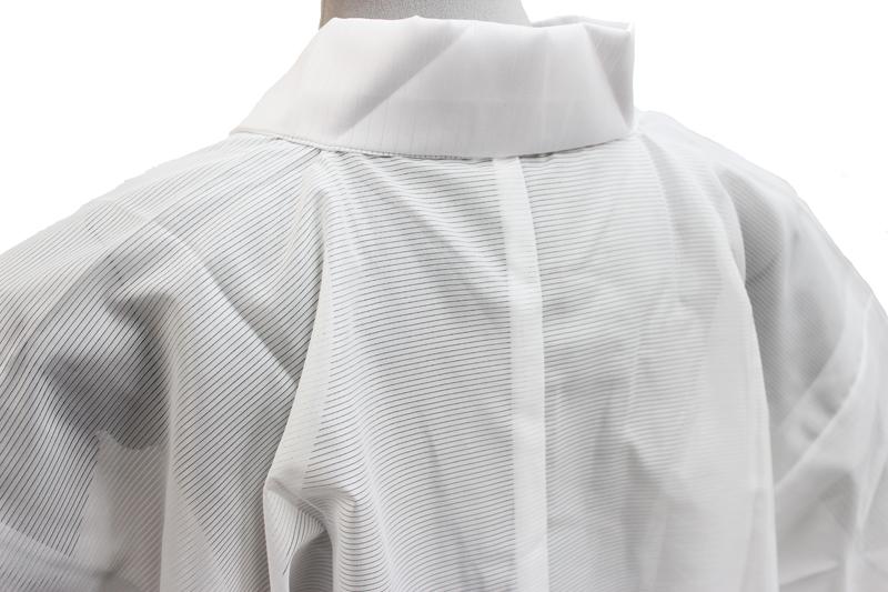 Tailoring up Leno nagajuban (white, with Han-ERI-Leno-unlined-summer time)