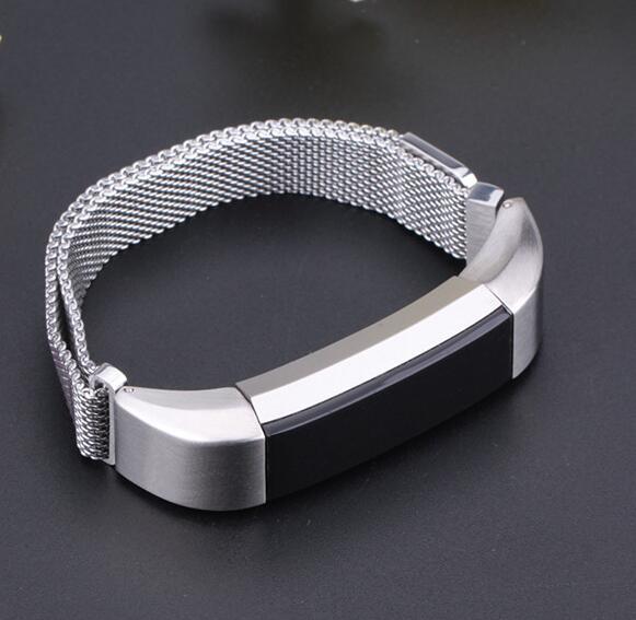 980円以上送料無料 Fitbit Alta hr ステンレスベルト 高い素材 腕時計バンド シルバ お金を節約 留め金製 ウォッチベルト 交換ベルト
