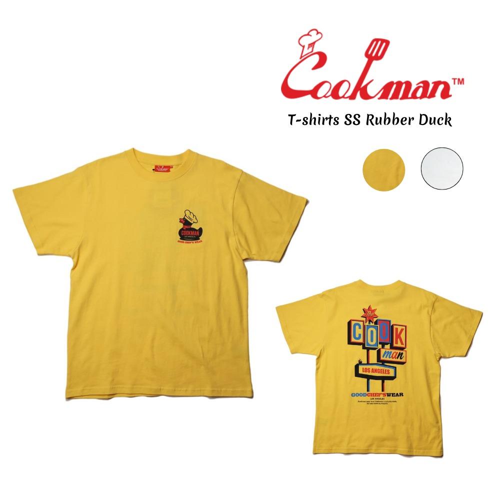 買取 COOKMAN T-shirt SS クックマン Duck》 《Rubber Tシャツ 半袖 期間限定