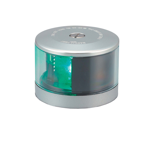 LED式航海灯 第2種げん灯・緑(右) スターポートライト JCI認定品 新規格品【伊吹工業】