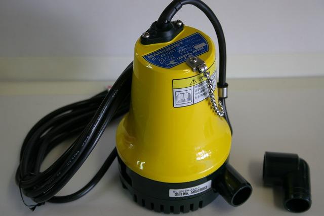 マリンペット MARINE PET(12V/24V) マリン用水中ポンプ