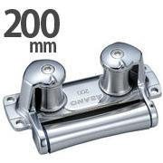 ステンレス製 三方ローラー 200mm