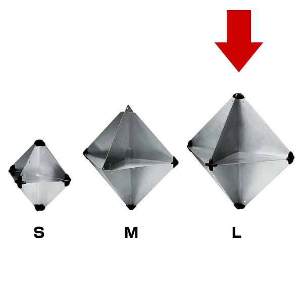 レーダーリフレクター(折りたたみ式反射器)Lサイズ JSAF/ORC適合 【PLASTIMO】