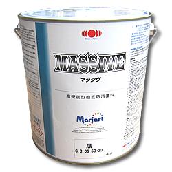 クルーザーに最適!船底塗料マッシヴMASSIVE 4kg缶 【日本ペイント・ニッペ】