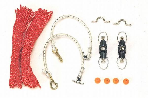 リガー トローリング リードキット(スーパーヘビー用)[690] 4色