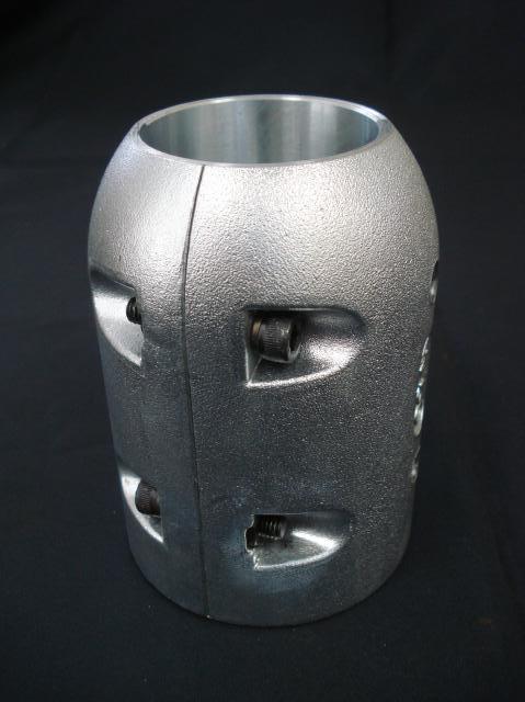 プロペラ用保護亜鉛φ95 二つ割ロング