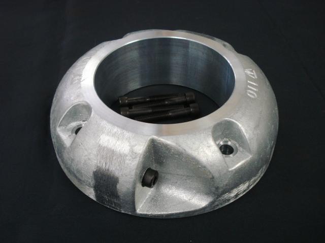 プロペラ用保護亜鉛φ125 二つ割