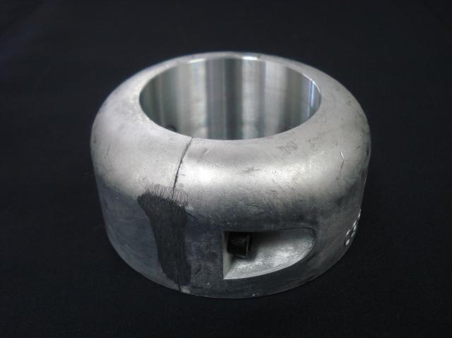 プロペラ用保護亜鉛φ55 二つ割