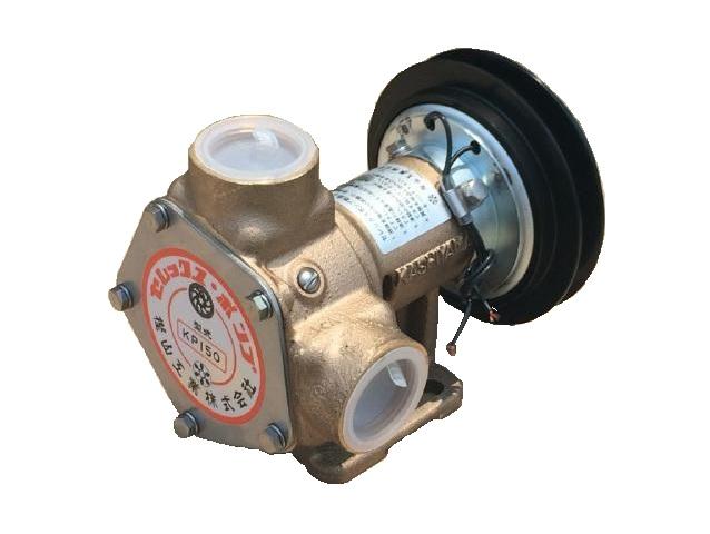 送料無料 セレックスポンプ 返品送料無料 雑用水ポンプ 海外 KP-150BCH 口径:11 電磁クラッチ付 4