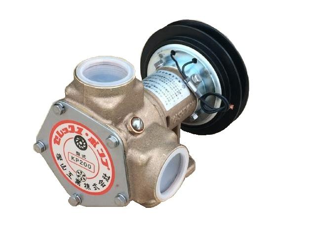 送料無料 セレックスポンプ 雑用水ポンプ KP-200BCH 電磁クラッチ付  口径:11/2
