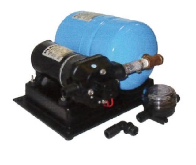 FLOJET 中型圧力ポンプ タンク付 送料無料 2840-300A 24V