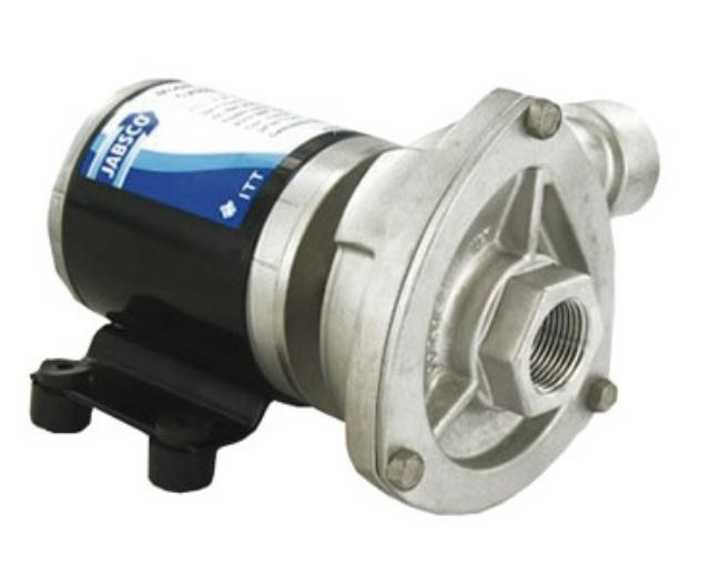 JABSCO サイクロンポンプ 送料無料 50840-2012 12V 渦巻きポンプ