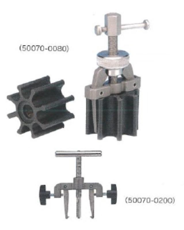 JABSCO インペラー抜取器 (大) 50070-0200 φ65~118mm