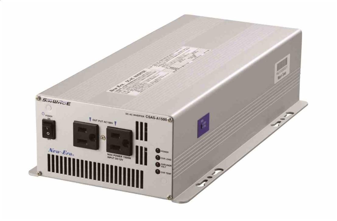 DC/ACインバーター CSAS-A1500 New-Era 送料無料