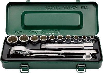 旭金属 ASAHI 12角ソケットレンチセット 12.7mm□ X 13pcs VO4101