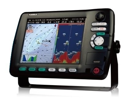 FUSO FEG-1041F_RC 1kW-H リモコン付 newpec全国地図標準 GPSプロッター 魚群探知機