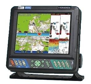 HONDEX(ホンデックス) HE-8(s) 600WGPSプロッター魚探 GPS内臓仕様