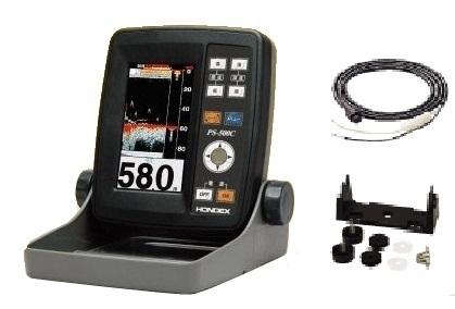 HONDEX(ホンデックス) PS-500C電源コード・架台セット 4.3型ワイドカラー液晶ポータブル魚探(200kHz100W)!, シャツステーション:29212bc9 --- data.gd.no