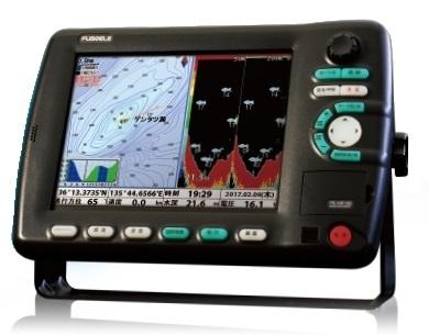 FUSOELE(フソー) FE-10F_HG 600W newpec全国地図標準 + プラドールZ 赤 4kg GPSプロッター 魚群探知機