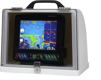 ホンデックス HONDEX 魚探BOX GB01移動1型(電源2P・振動子3Pコネクタ付)魚群探知機