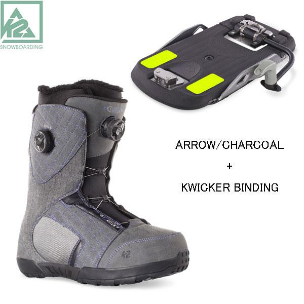 2014/2015 K2【ARROW+KWICKER BINDING】