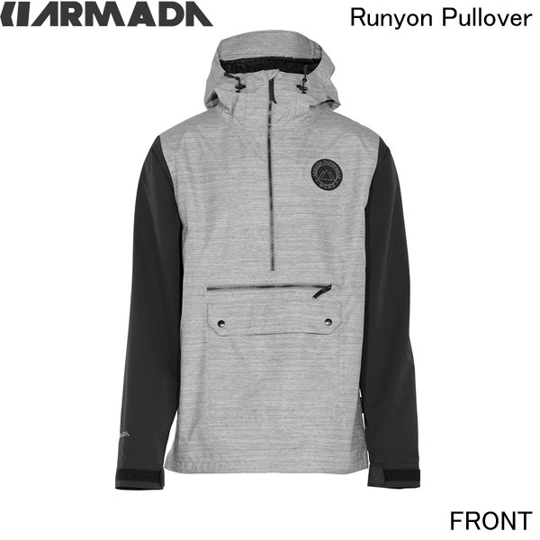 2015/2016ARMADA【Runyon Pullover/Heather/15MJA-RUN-HEA】