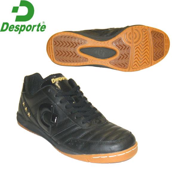 【Desporte】カンピーナス JP5/DS-1430KS/BLK×BLK デスポルチ別注カラーインドア用フットサルシューズ