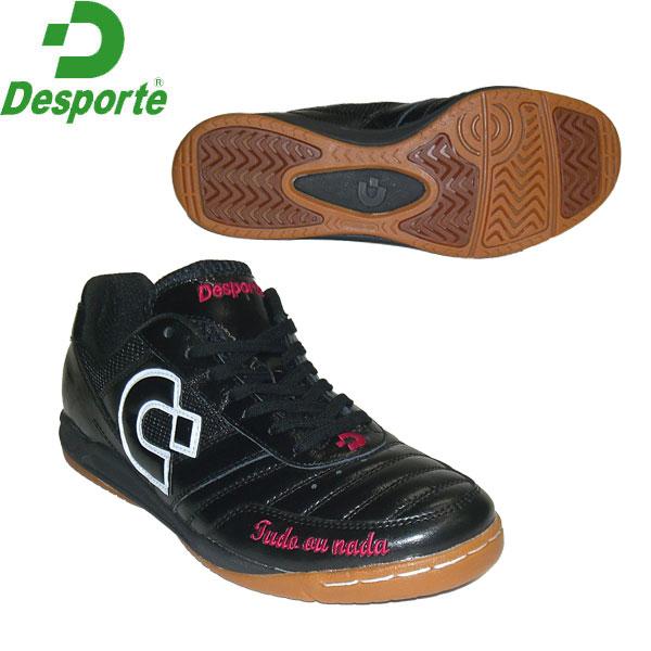 【Desporte】カンピーナス JP5/DS-1430KS-BPW/BLK×PNK×WHT デスポルチ別注カラーインドア用フットサルシューズ