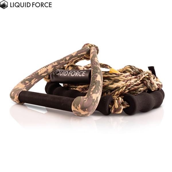 2021モデルリキッドフォースウェイクサーフ用ハンドル ロープ 物品 2021LIQUIDFORCE SURF DLX 9″ CAMO W セール価格 HANDLE COMBO FLOAT