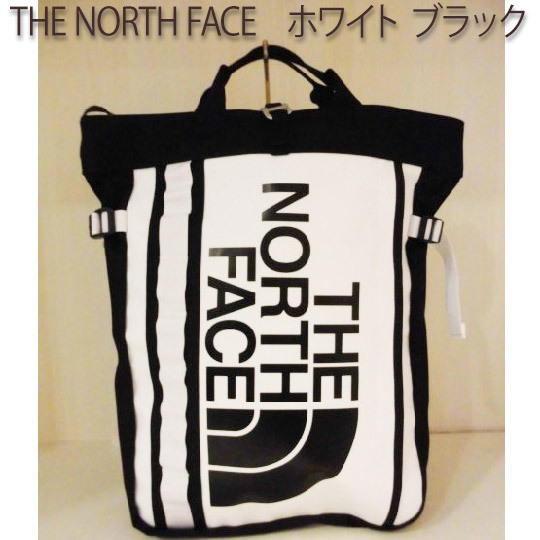 THE NORTH FACE  BCFuseBoxTote   (ホワイト ブラック) (NM81864/WK)