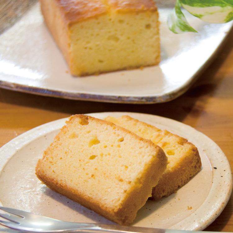 近江米と日本酒 「みずかがみ」パウンドケーキ
