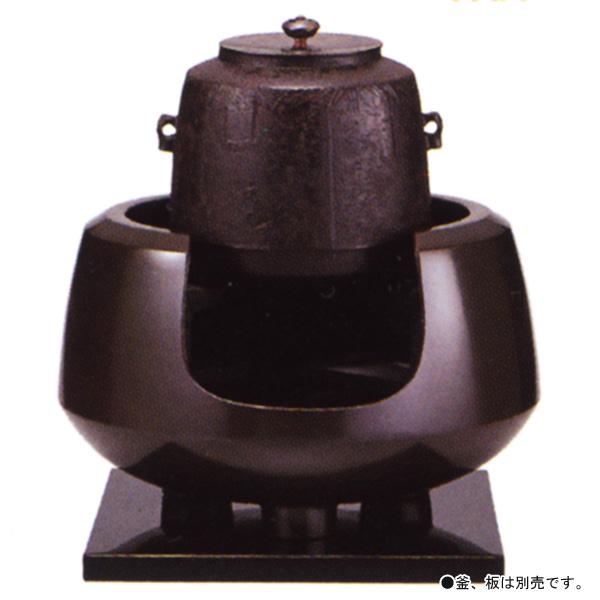 茶道具 唐銅 面取風炉 極上【茶道具 加藤忠三朗作 通販 】