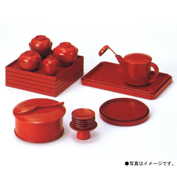 茶道具 懐石道具 五客揃 合成漆塗 朱