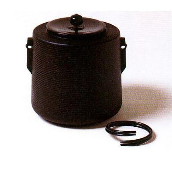 茶道具 釜 しきの釜 糸目筒釜 ※この商品は取り寄せ品になります。