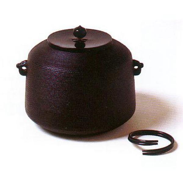 茶道具 釜 しきの釜 糸目尻張釜 ※この商品は取り寄せ品になります。