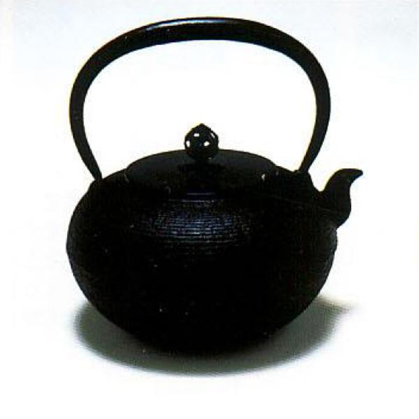 茶道具 鉄瓶 しきの鉄瓶 糸目丸型 ※この商品は取り寄せ品になります。