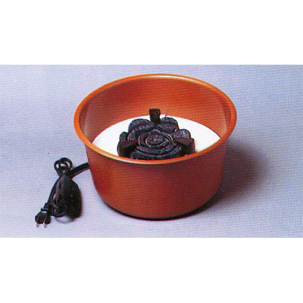 茶道具 煎茶用炉 丸炉(立礼用) ※この商品は取り寄せ品になります。