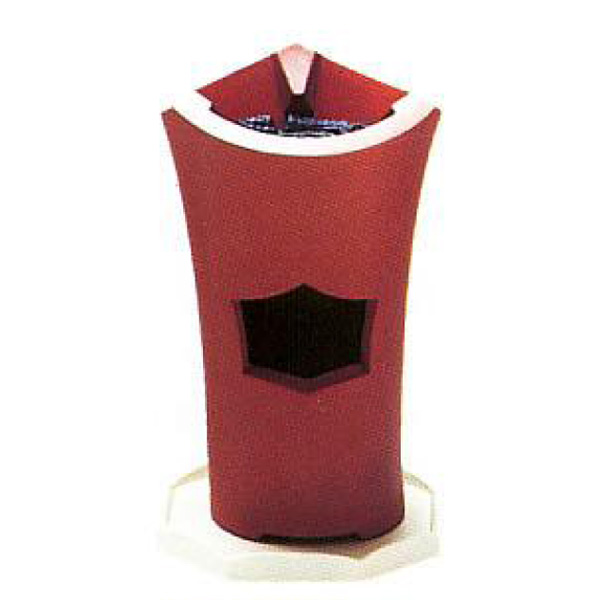 茶道具 煎茶用炉 涼炉(朱泥) ※この商品は取り寄せ品になります。